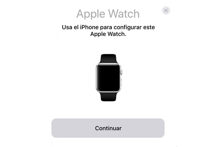 Como sincronizar el Apple Watch con quick Start