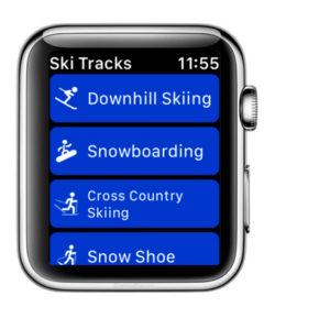 aplicacion nieve Skitracks