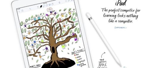 Apple nos sorprende con su nuevo iPad 2018 para la educación