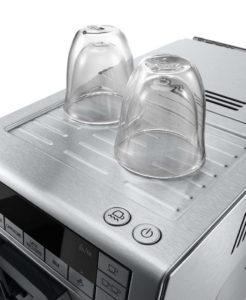 cafetera con calentador de tazas