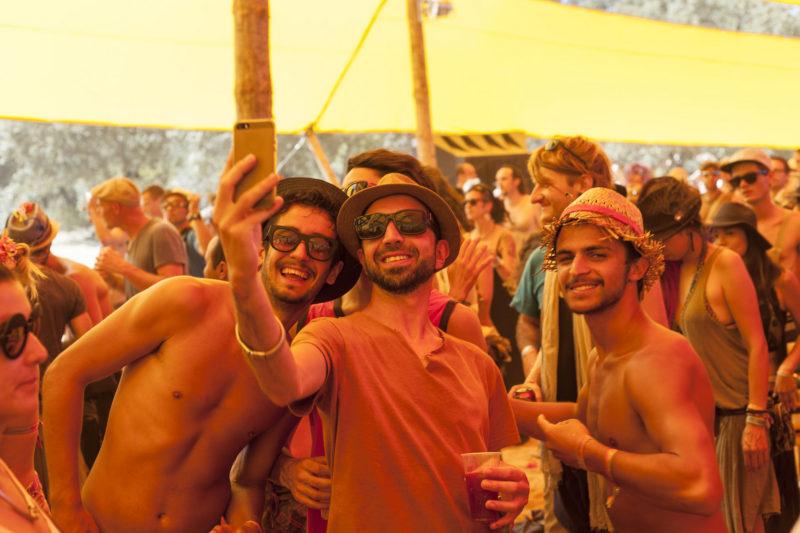 tecnología para festivales