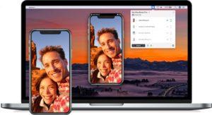 Pantalla iPhone en Mac