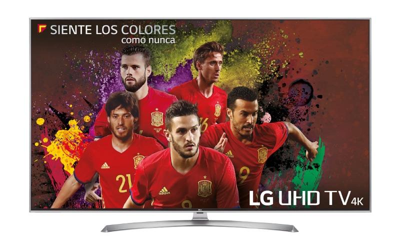 televisor futbol