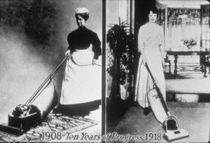 Historia del aspirador Hoover