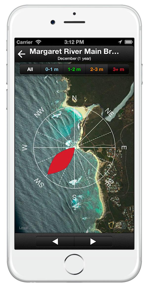 app para la playa