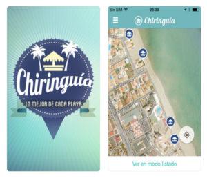 Chiringuia Aplicaciones para el verano
