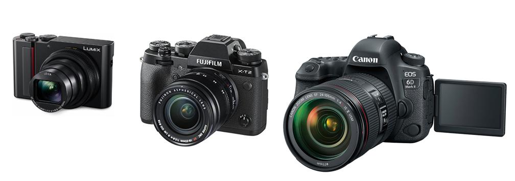 elegir cámara de fotos
