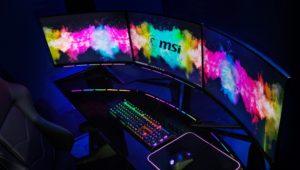 mis monitor gaming
