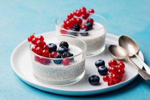 Pudding de chía y yogur