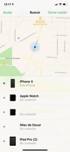 robar iphone