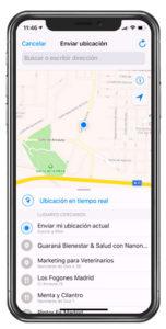 Compartir Localizacion WhatsApp
