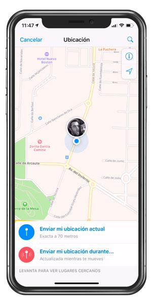 Localización Telegram