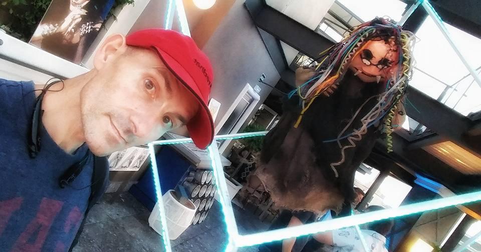 selfie en la ciudad