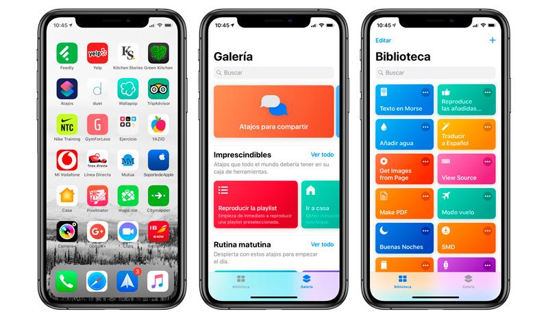 Atajos-de-Siri para iPhone