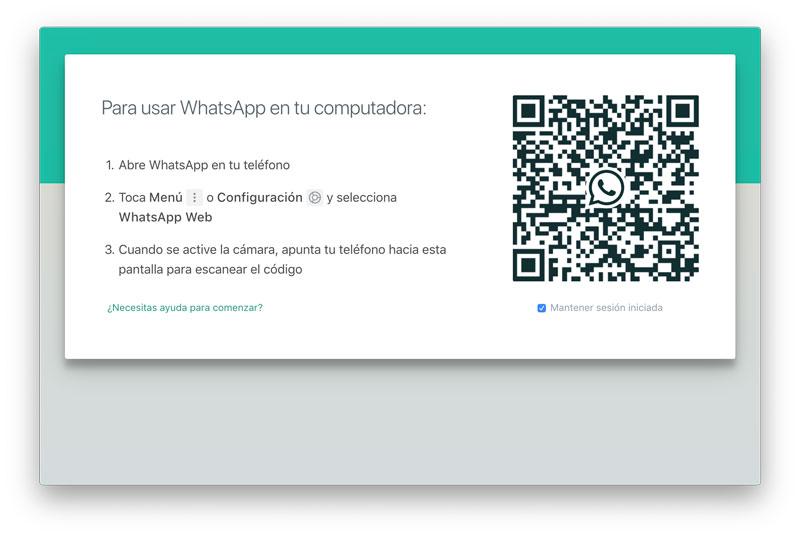 usar WhatsApp en un ordenador
