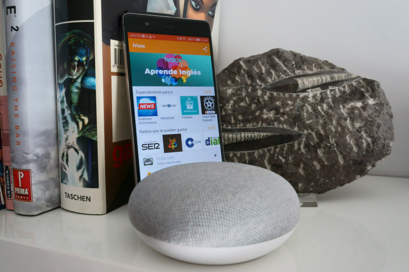 podcast google home