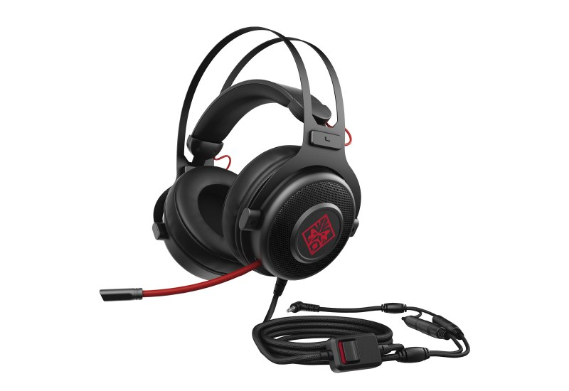Auriculares Gaming con micrófono HP OMEN 800 Gamergy