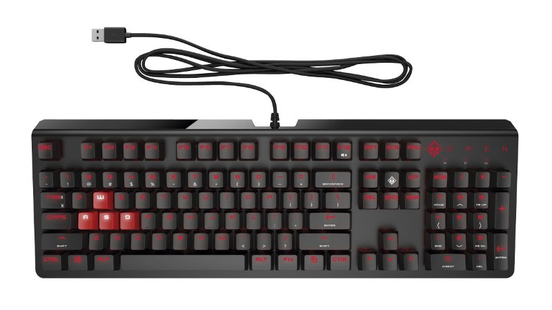 Teclado HP Omen 1100 Gamergy
