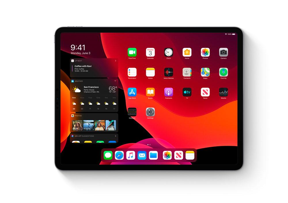 iPadOS para iPad