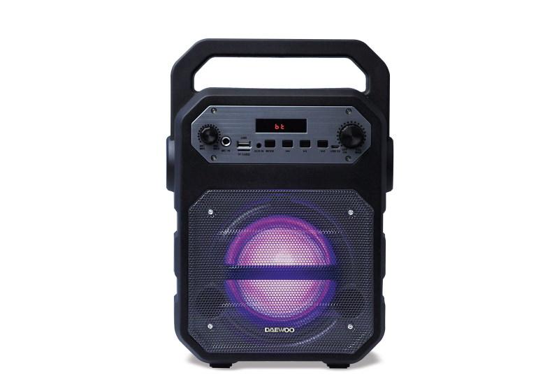 Altavoz portátil Daewoo DSK-345 Negro Bluetooth y Karaoke