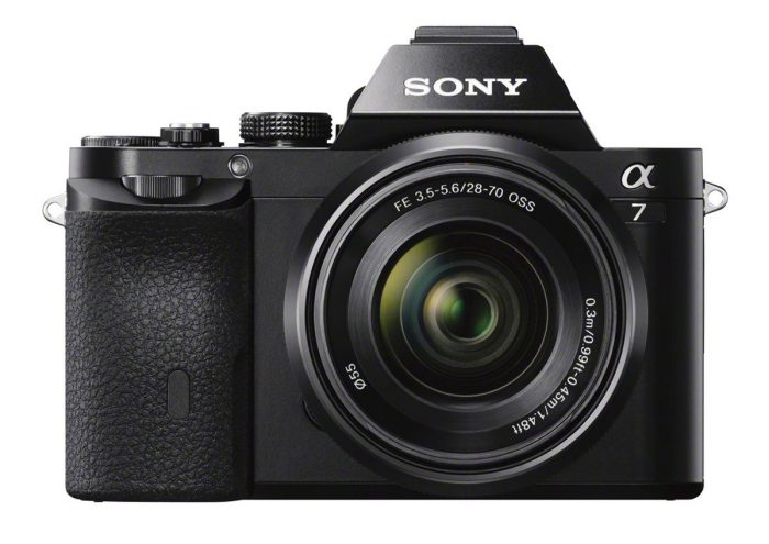 Sony Alpha 7con Objetivo Zoom28-70mm
