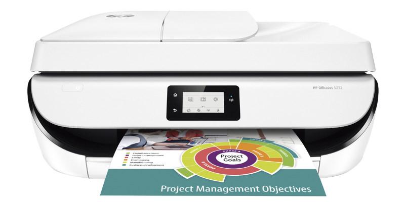 Impresora Multifunción HP OfficeJet 5232 Wi-Fi