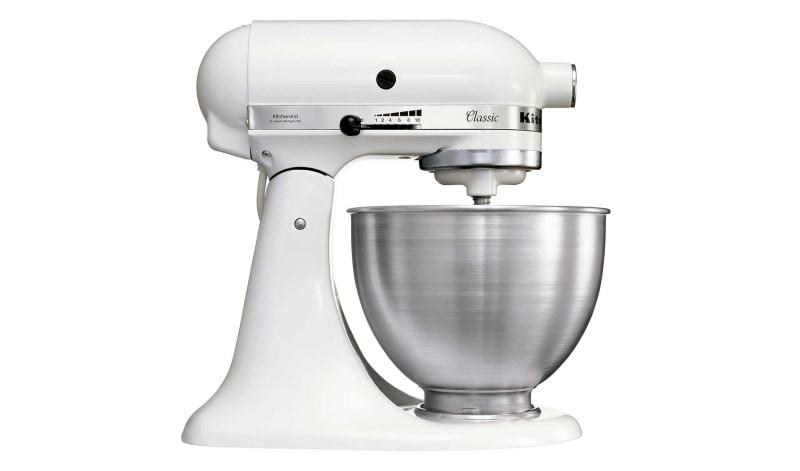 Robot de cocina Classic Blanco Kitchen Aid 5K45SSEWH