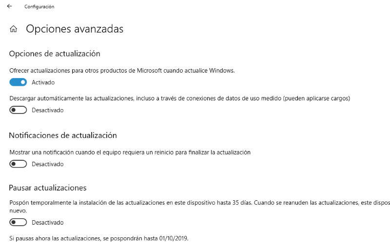 como instalar actualizaciones windows