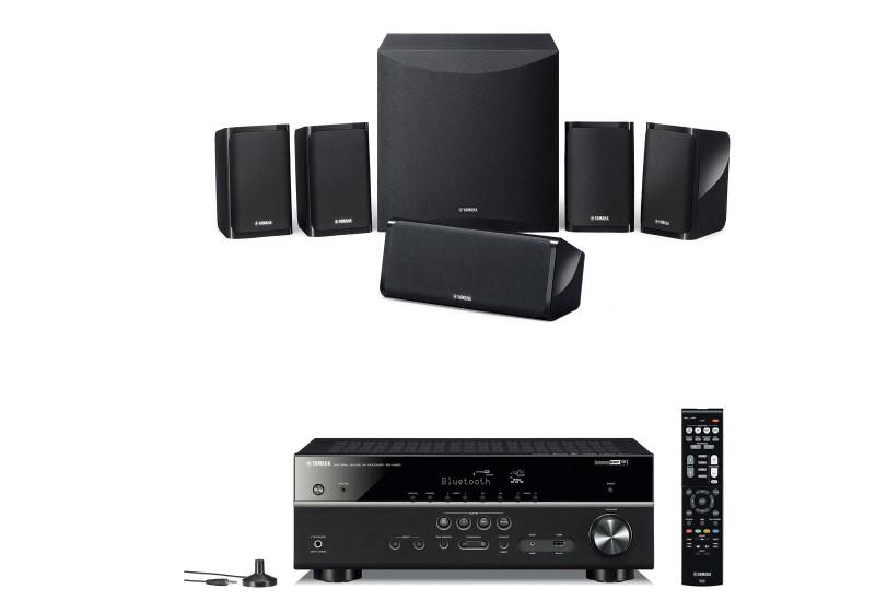Sistema Home Cinema Yamaha Musiccast YHT-4854 Bluetooth y tecnologia DSP