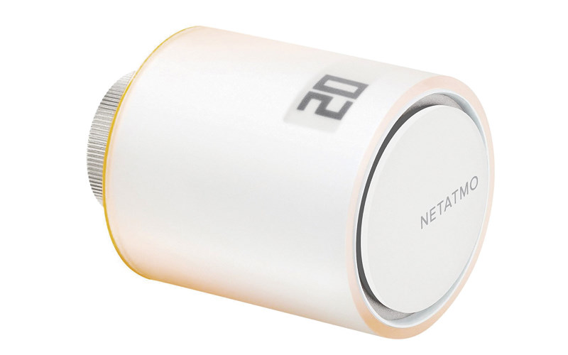 Válvula inteligente adicional para radiador Netatmo by Starck