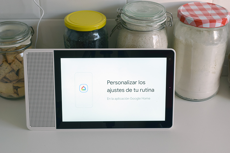 Lenovo Smart Display con el Asistente de Google